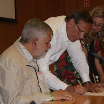 Nazaré - assinatura compromisso Cidade de Afetos